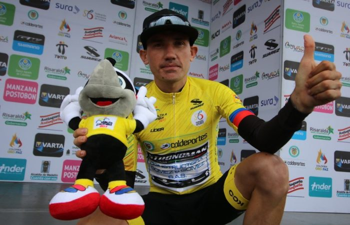 Bicicletas Strongman-Formesán con Aristóbulo Cala, sigue en la pelea por el trono del Clásico RCN