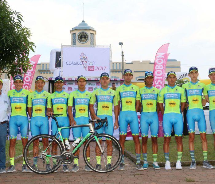 Presentación de equipos: Ciclismo y folclore engalanaron la ciudad de Pereira