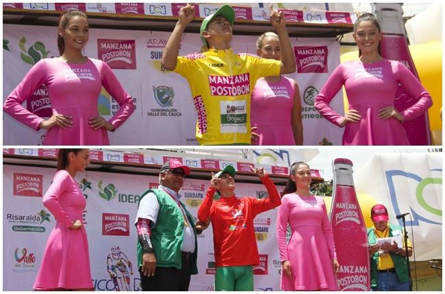 Javier Gómez, ganó por partida doble: etapa y liderato