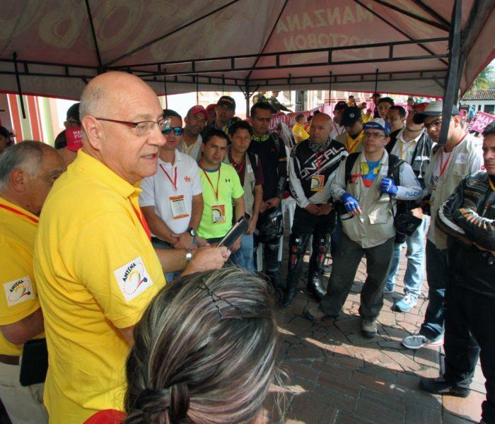 Héctor Fabio Arcila y la tecnología que llega al ciclismo colombiano